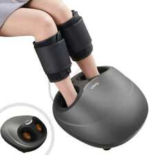 Tespo Electric Shiatsu Foot Ankle Massager With Leg Compression Heating EPS09