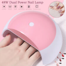 48W UV Nail Lamp LED Light Professional Nail Polish Dryer Gel Curing Manicure