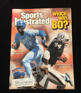 Sports Illustrated December 14 1987 Bo Jackson Royals Raiders Which Way Bo