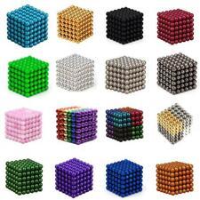 216pc Magnet Balls Magic Beads 3D Puzzle Sphere Magnetic Magnetkugeln+Garnbeutel