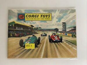 Rare Original Corgi Toys Catalogue