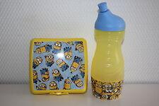 TUPPERWARE MINIONS Sportfreund Flasche 415 ml Pause Dose Früstukbox Sandwichbox