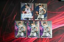 2021 Topps Finest Casey Mize RC Rookies Design Variation Refractor Auto + 4 Base