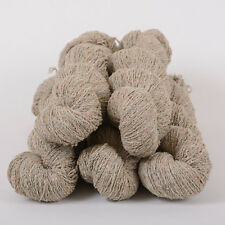 *500g *BRITISH WOOL + LYCRA* DK. Grey Tweed. Double knitting.yarn.pure.aran.100%