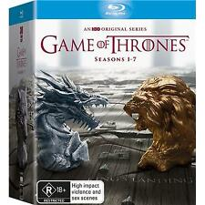 "GAME OF THRONES COMPLETE SEASON 1-7 BOX SET 30 DISC BLU-RAY RB AUSTRALIA ""NEW"""