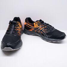 Men's Asics Gel Sonoma 3 Trail Running Shoes Size US 13 Black/Orange T724N