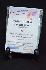 Peppermint & Lemongrass Foot Soak with Epsom Salts & essential oils 50g