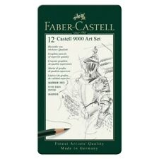 Faber-Castell Art-set Castell 9000 Im 12er Metalletui