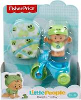 Fisher-Price Little People Bundle 'n Play - Frog Froggy Baby w/ Tricycle