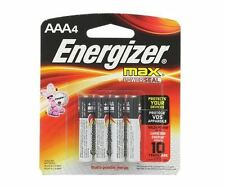Energizer MAX Alkaline Batteries AAA 4 Each (Pack of 2)