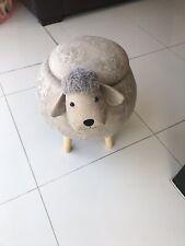Sheep Round Storage Stool