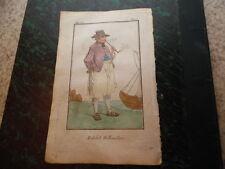 1790.matelot hollandais.Hollande.gravure en couleurs..