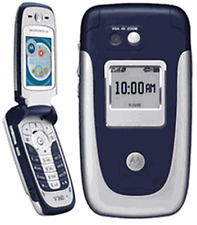 FLIP MOTOROLA V360 UNLOCKED GSM MOBILE CELL PHONE FIDO ROGERS CHATR MP4 PLAYER