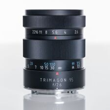 Meyer Optik goerlitz trimagon f2, 6 95 mm made in Germany para Canon EOS EF EF-S