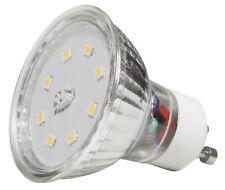 SMD LED Leuchtmittel / 220V Gu10 / 7W / Warmweiss 3000k - Tageslichtweiss 4000k