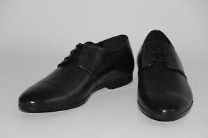 HUGO BOSS Schuhe, Mod. Pariss_Derb_pr, Gr. 44 / UK 10 / US 11, Black