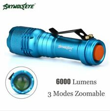 7000LM CREE Q5 AA/14500 3 Modes ZOOMABLE LED Flashlight Torch Lamp HOT5