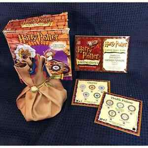 Game Harry Potter Casting Stones Dice Board - 2001 - Incomplete
