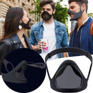 Reusable Smart Adult Face Mask Reusable Flip up Face Bandana Magnetic Anti-Fog
