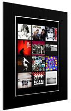 More details for mounted / framed print u2 discography 3 sizes print poster artwork