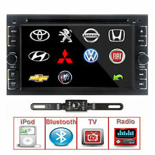 "Express Camera+ Digital Car DVD Radio Player 6.2"" HD LCD Bluetooth Stereo RDS SD"