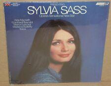 Sylvia Sass Opera's New Sensational Star NEW SEALED vinyl LP record opera singer