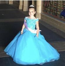 Tiffany girls pageant dress size 6