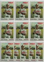 2019 Topps Heritage High Number Richie Martin (11) Card Rookie Lot #532 Orioles