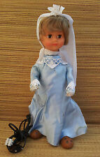 Old doll mechanical articulated, toy, collection, old mecanic doll