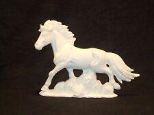 Beautiful Running Stallion - Ceramic Bisque Ready to Paint