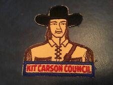 OLD Boy Scout Red /& White Council Shoulder Patch RWS Kit Carson Council