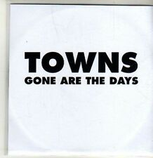 (CU120) Towns, Gone Are The Days - 2011 DJ CD