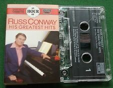 Russ Conway His Greatest Hits Hour of Series Cassette Tape - TESTED