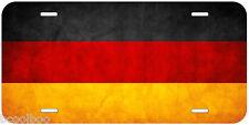 Germany Grunge Flag Aluminum Novelty Car License Plate
