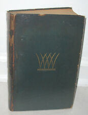 SIGNED Rockwell Kent Leaves Of Grass Walt Whitman 1930 Special Edition of 1000