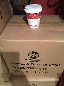 Job Lot 36 Ceramic Coffe Cups BRAND NEW