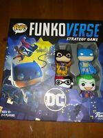 Funko Pop! Funkoverse Batman Board Game DC Comics #100 Base Set