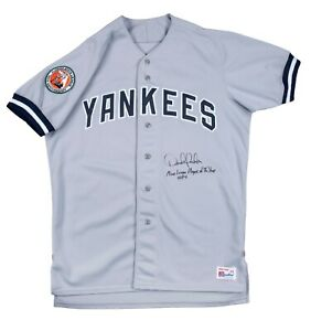 Earliest Derek Jeter Game Used Photo Matched Signed New York Yankees Jersey JSA