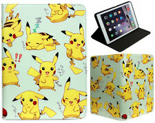 For Apple iPad Pro 9.7'' 2017 & iPad Air 1-2 Pokemon Pikachu Stand Case Cover
