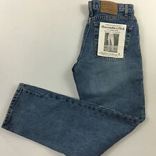 ABERCROMBIE & FITCH womens size 2 28x31 Vintage made USA mom jeans sandwash tom