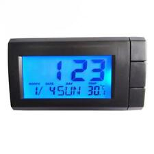 Car Thermometer With Backlight​ Function Digital Clock Car Indoor Temperature