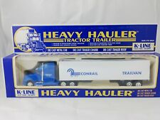 K-LINE CONRAIL Trailvan Heavy Hauler Tractor Trailer Truck