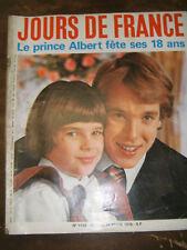 Jours de France N° 1108 8 mars 1976 Prince Albert fête ses 18 ans Mode Bourget