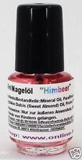 4,5ml Nagelöl, Duft: Himbeer, Pflege für die Nägel, 4,5 ml Nagel Öl, Nr. 34