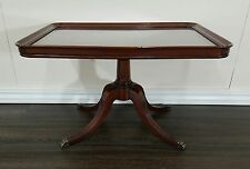 Duncan phyfe style side table, Imperial True Grand Rapids, claw foot, mahogany