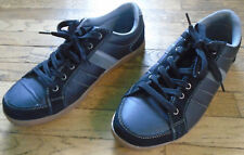 Perry Ellis America Quick Men's Leather Upper Lace Up Sneakers Shoes Size 10