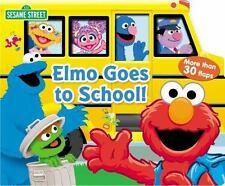Sesame Street: Elmo Goes to School! (Lift-the-Flap), Shepherd, Jodie, Sesame Str