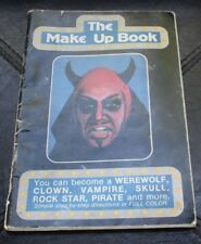 The Make Up Book Halloween Makeup Easy How-To Handbook Theatrical 1981 Vintage