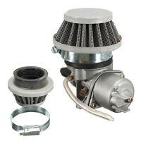 Carburetor Carb + Air Filter 47cc 49cc Mini Moto ATV Quad Dirt Bike UK Hot