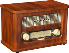 MADISON  MAD-RETRORADIO NOSTALGIERADIO Bluetooth UKW TUNER 2 x 10 Watt Radio